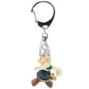 Keychain figure Plastoy Astérix drinking the magic potion 60389 (2015)