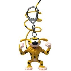 Porte-clés figurine Plastoy Le Marsupilami musclé 65046 (2015)