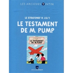 The archives Tintin Atlas Jo, Zette and Jocko, Le Testament de M. Pump (2012)