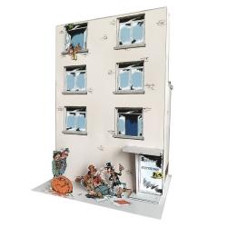 Diorama de collection Toubédé Editions Gaston Lagaffe: la citrouille(2020)