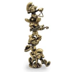 Figura de colección Pixi La columna de Los Pitufos músicos 5503 (2020)