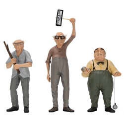 Set of three collectible figures Attakus, The Old Geezers C797 (2020)