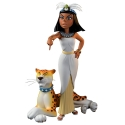 Collectible figurine Fariboles Asterix, Cleopatra with Panther (2020)