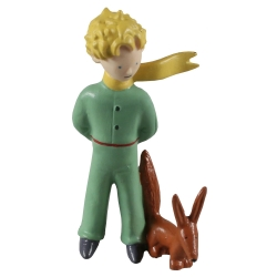 Collectible figurine Plastoy The Little Prince with the fox 15638 (1997)