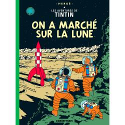 Album Les Aventures de Tintin T17 - On a marché sur la Lune