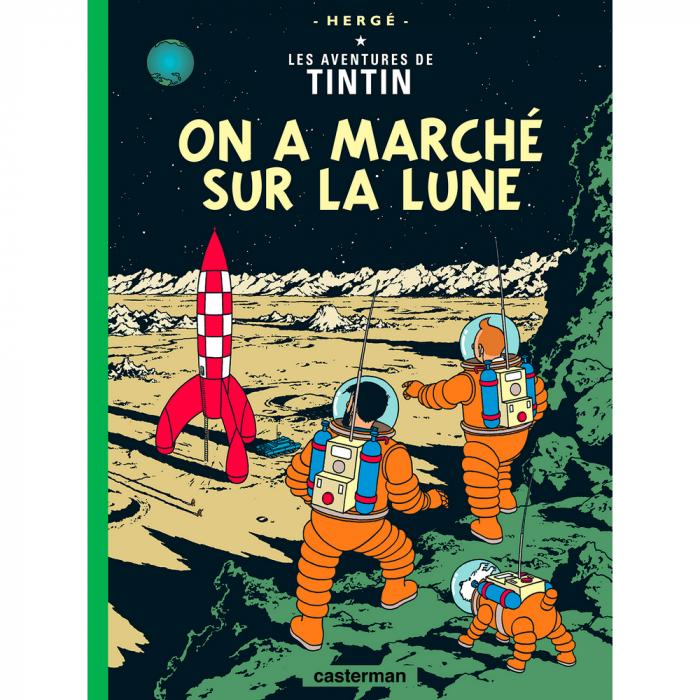 Álbum Las aventuras de Tintín: Aterrizaje en la Luna