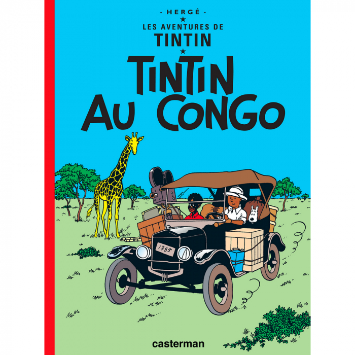Album Les Aventures de Tintin: Tintin au Congo