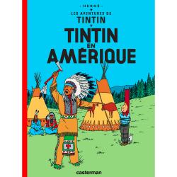 Album The Adventures of Tintin T3 - Tintin in America