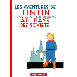 Album The Adventures of Tintin: Tintin in the Land of the Soviets