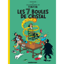 Album Les Aventures de Tintin: Les 7 boules de cristal