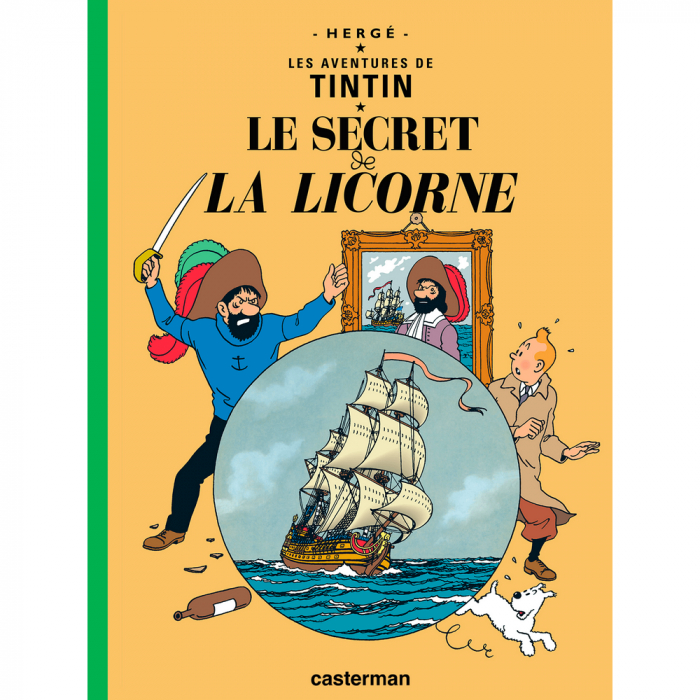Album Les Aventures de Tintin: Le secret de la Licorne