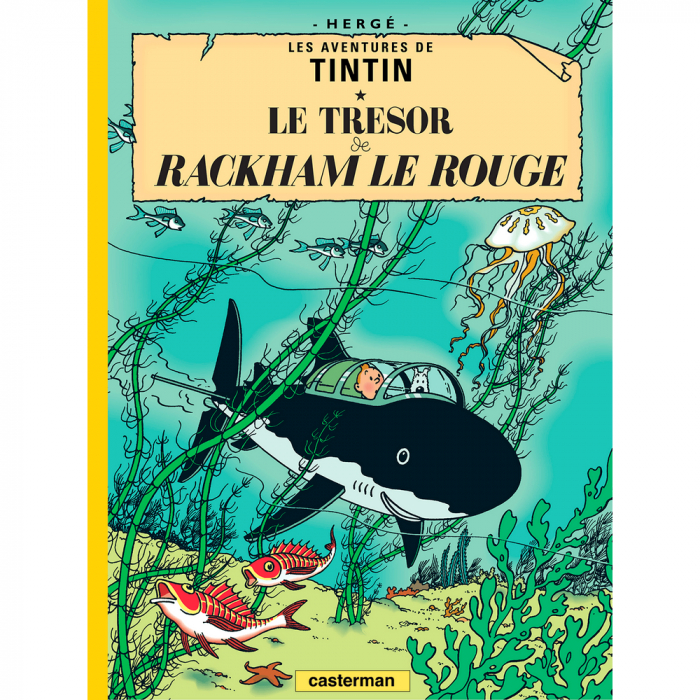 Album The Adventures of Tintin: Red Rackham's Treasure
