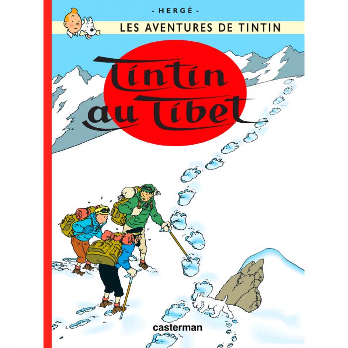 Album Les Aventures de Tintin: Tintin au Tibet