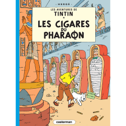 Album The Adventures of Tintin T4 - Cigars of the Pharaoh