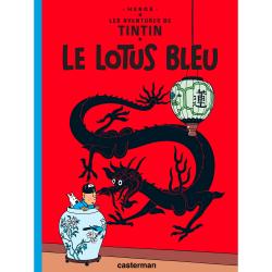 Album Les Aventures de Tintin T5 - Le lotus bleu
