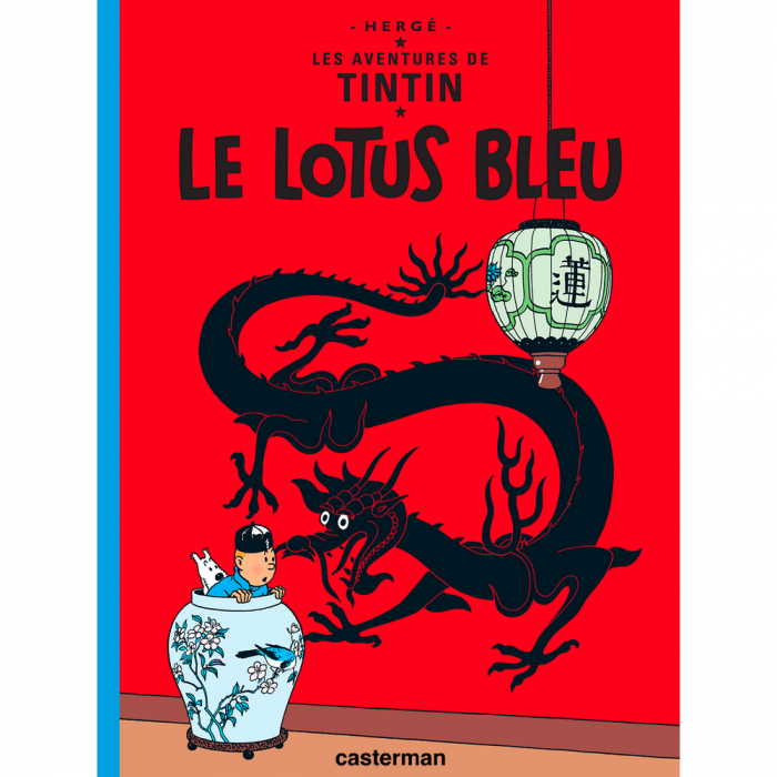 Album Les Aventures de Tintin: Le lotus bleu