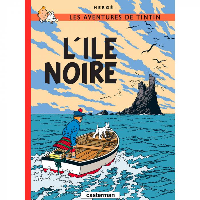 Album Les Aventures de Tintin: L'île noire