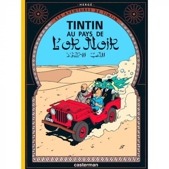 Álbum Las aventuras de Tintín: Tintín en el país del oro negro