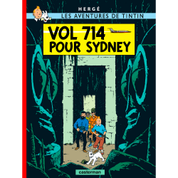 Album The Adventures of Tintin T22 - Flight 714