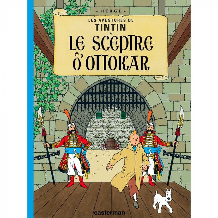Album Les Aventures de Tintin: Le sceptre d'Ottokar