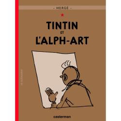 Album Les Aventures de Tintin T24 - Tintin et l'Alph-Art
