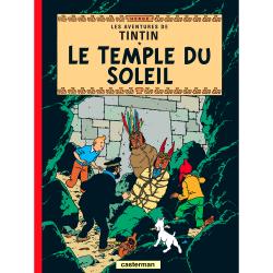 Album Les Aventures de Tintin T14 - Le temple du soleil