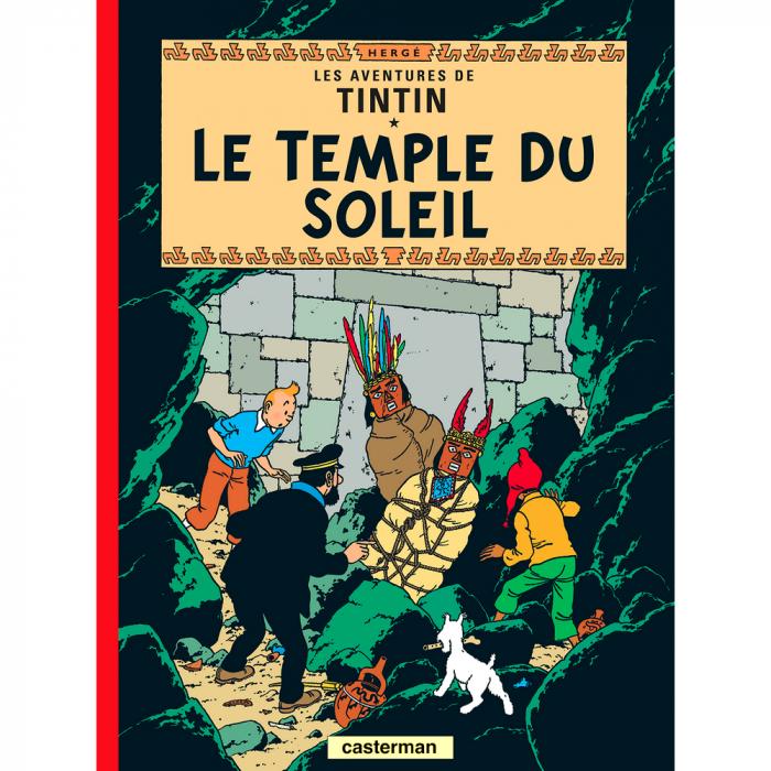 Album Les Aventures de Tintin: Le temple du soleil