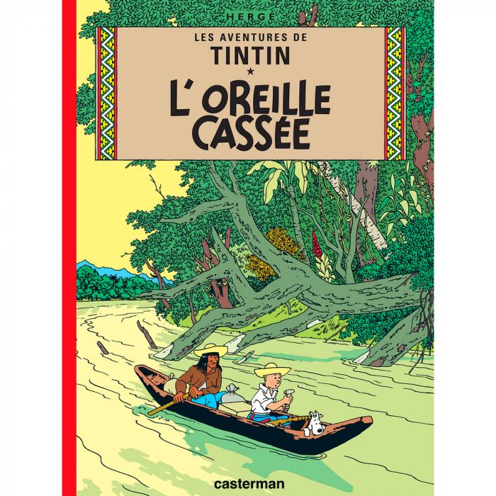 Album Les Aventures de Tintin: L'oreille cassée