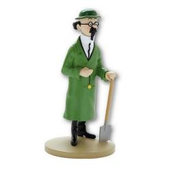 Figura de colección Tintín Tornasol con la azada 13cm Moulinsart Nº3 (2011)