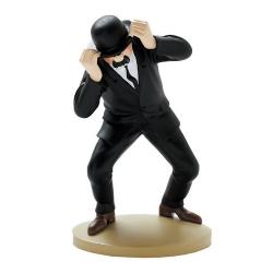 Figurine de collection Tintin, Dupond engoncé 13cm + Livret Nº04 (2011)