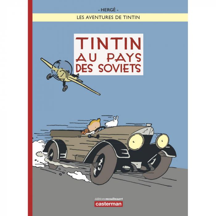 Album de Tintin au pays des soviets Edition limitée version colorisée (2017)