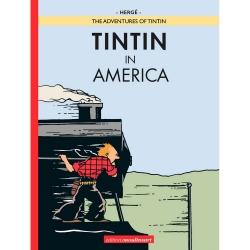 Album Les Aventures de Tintin T3 - Tintin en Amérique colorisée EN (2020)