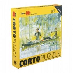 Puzzle Corto Maltés, Memorias con poster 66,5x50cm 815511 (2020)