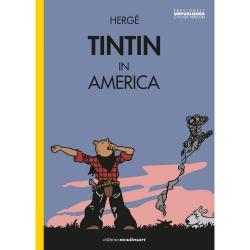 Álbum Las aventuras de Tintín T3 - Tintín en América color EN (2020)