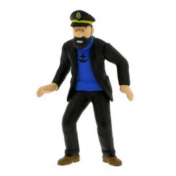 Figurine de collection Tintin Le Capitaine Haddock 9cm Moulinsart 42430 (2010)