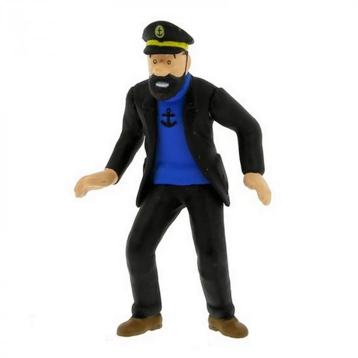 Figura de colección Tintín El capitán Haddock 9cm Moulinsart 42430 (2010)