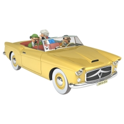 Coche de colección Tintín, el convertible bordura Nº24 1/24 (2020)