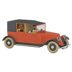 Voiture de collection Tintin, le taxi rouge Nº25 1/24 (2020)