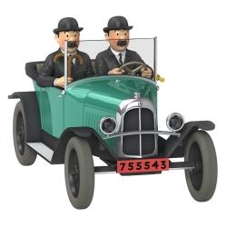 Voiture de collection Tintin, la 5CV trèfle des Dupondt Nº27 1/24 (2020)