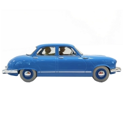 Voiture de collection Tintin, le taxi Panhard Dyna Z Nº30 1/24 (2020)
