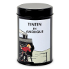 Moulinsart Tin Ground Coffee Box, Tintin in America colorized, Locomotive (250g)