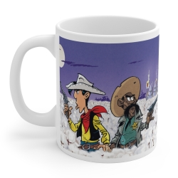 Ceramic mug Lucky Luke (A Cowboy In High Cotton)