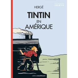 Carte postale album de Tintin: Tintin en Amérique 300915 (10x15cm)