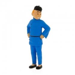 Figurine de collection Tintin en Chine 6cm Moulinsart 42461 (2011)