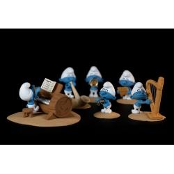 Collectible scene Fariboles with figurines, The Smurfs Orchestra P3 (2020)