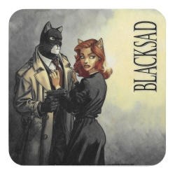 Blacksad Coaster 10x10cm (John and Natalia Willford)