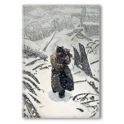 Decorative magnet Blacksad, Arctic Nation (55x79mm)
