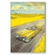 Decorative magnet Blacksad, Amarillo (55x79mm)