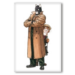 Decorative magnet Blacksad, John and Weekly (55x79mm)