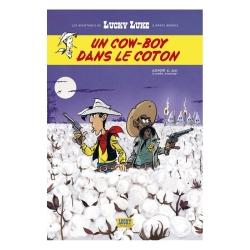 Postal del álbum de Lucky Luke: Un cowboy en el algodón (10x15cm)